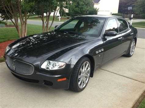New 4 Door Maserati by Sell Used 2008 Maserati Quattroporte Executive Gt Sedan 4