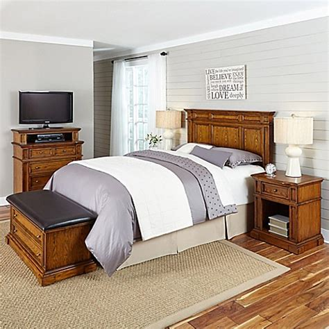 types of bedroom furniture pieces home styles americana 5 piece headboard and bedroom