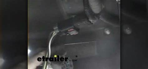 how to install a trailer wiring harness in a dodge ram van