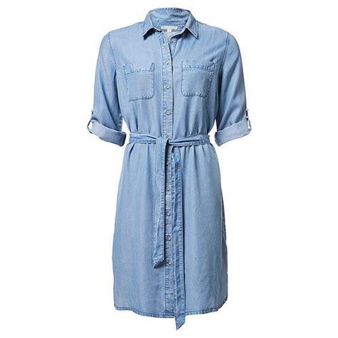 tencel chambray shirt dress target australia