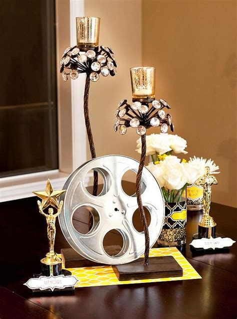 oscar themed decoration ideas reels as decor oscar ideas and decor