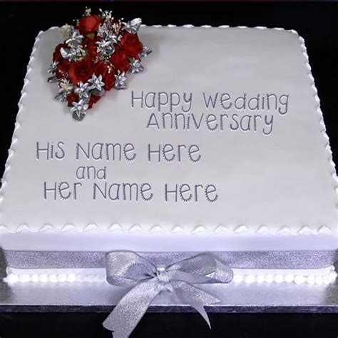 Wedding Name Generator by Wedding Anniversary Cake Name Picture Anniversary Cakes
