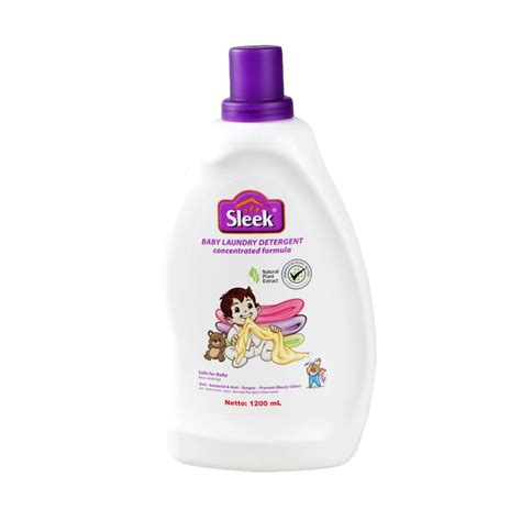 Sleek Bottle 450 Ml jual sleek baby laundry detergent bottle 1200 ml harga kualitas terjamin blibli