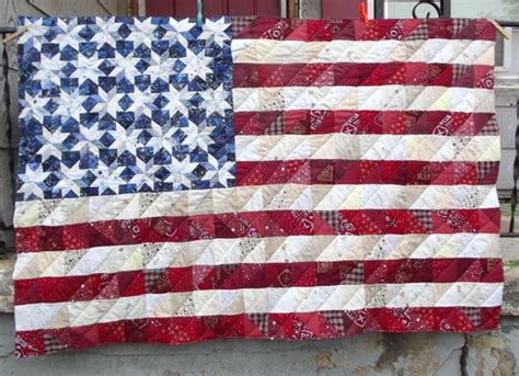 s got a chainsaw flag quilt how to part 2