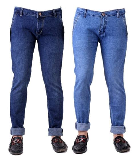 Why Buy Premium Denim by Trendy Trotters Pack Of And Light Blue Denim