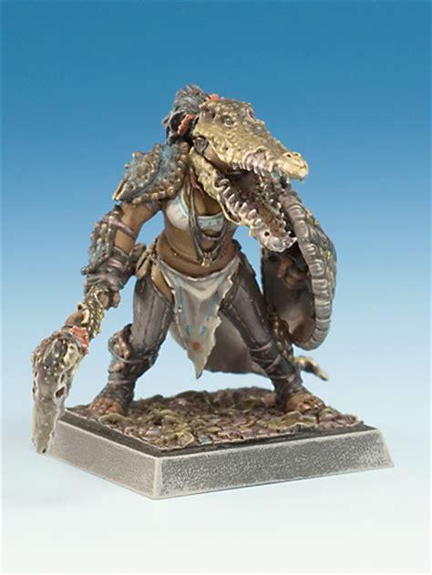 Crocodile Armour occepa in alligator armor amazons x1 fig