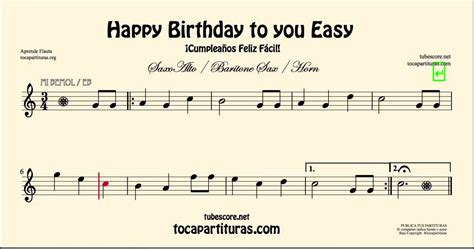 printable happy birthday sheet music alto sax happy birthday to you easy sheet music for alto saxophone