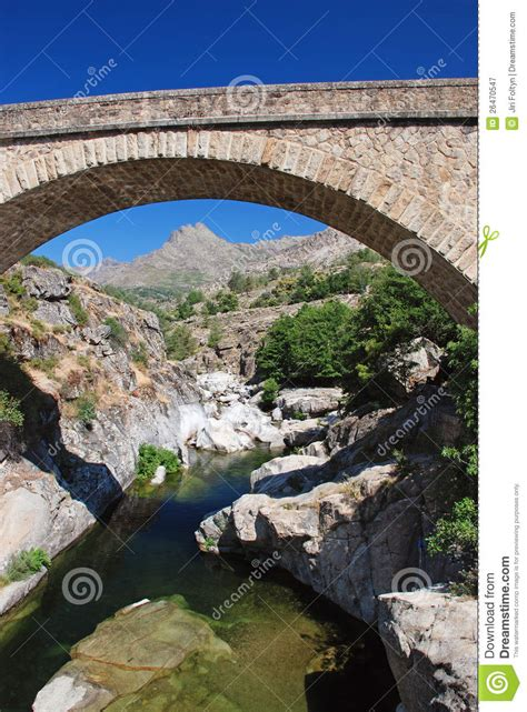 Traditional Arched Bridge Royalty Free Stock Photography Bridge Traditional