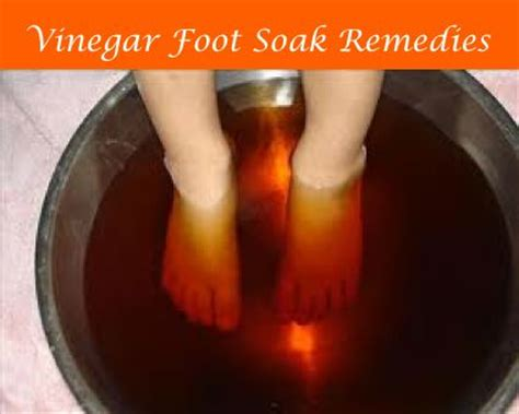 Foot Bath Detox Listerine by Vinegar Foot Soak Remedies Vinegar Foot Soaks Vinegar