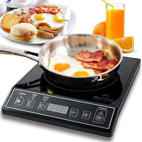 duxtop  watt portable induction cooktop mc