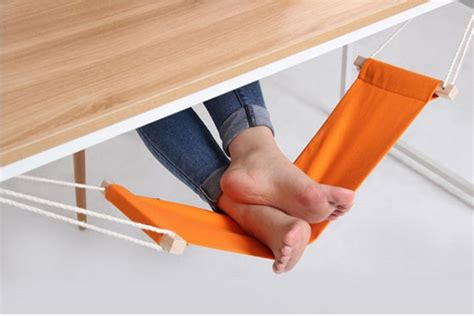 a foot hammock you for cool tech