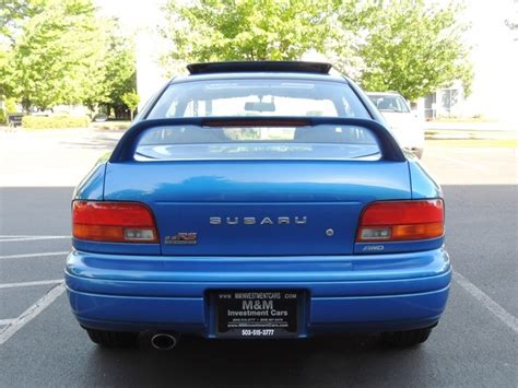 subaru coupe rs 1998 subaru impreza rs coupe 2 5 rs awd sti wrx