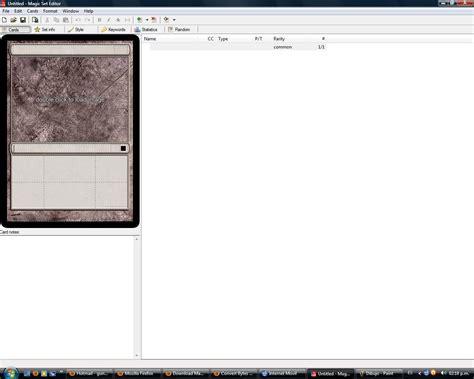 magic set editor software informer screenshots