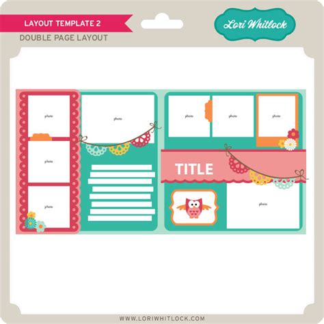 new at jessica sprague layout templates 187 lori whitlock