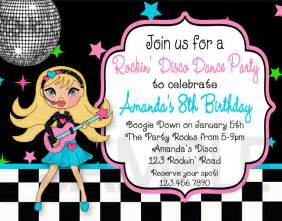 disco invitations theruntime