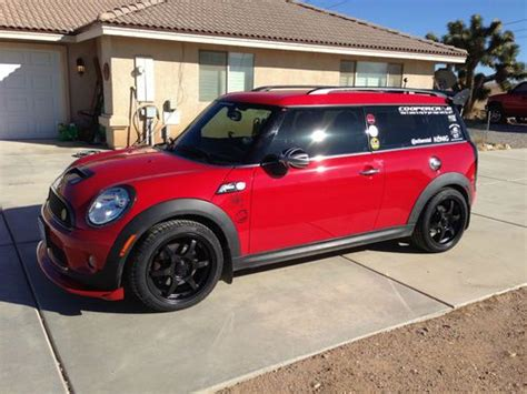 auto air conditioning service 2010 mini clubman navigation system purchase used 2010 mini cooper clubman s in hesperia california united states for us 19 750 00