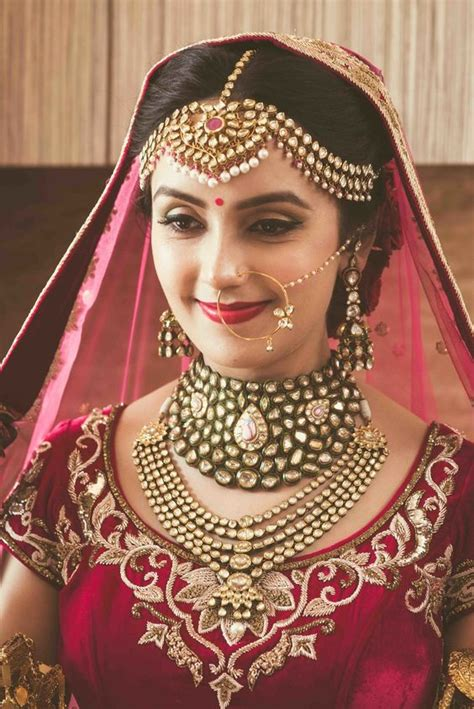 Indian Wedding Jewellery by Royal Portrait In Mathapatti And Polki Choker