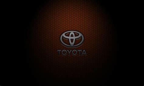 toyota logo black background wesharepics