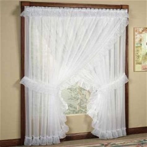 priscilla curtains bedroom sheer priscilla panel pair with attached valance the o