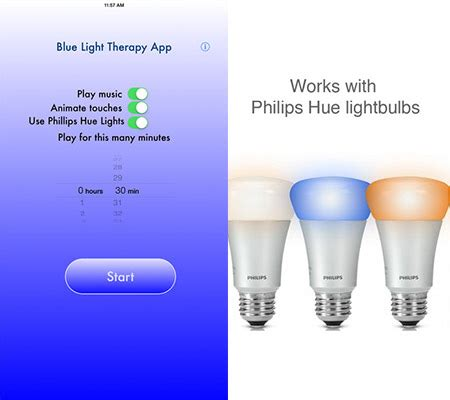 blue light therapy app apple apps to help you get the winter blues
