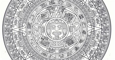 Aztec Calendar Symbols The Aztec Calendar Odds And Ends Aztec