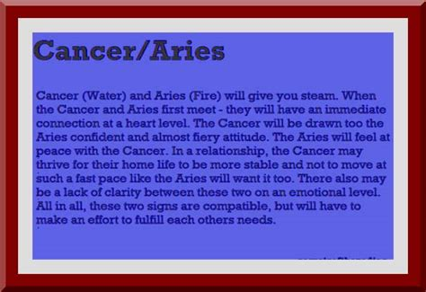 aries compatibility sexual astrology