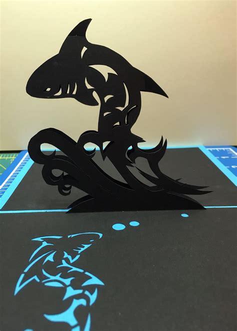 shark pop up card template 426 best nana cards images on alligators
