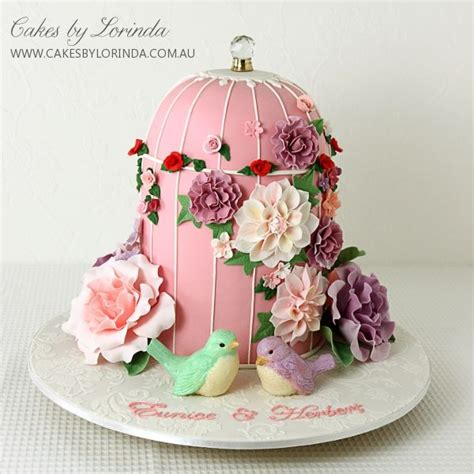 beautiful bird cage and aqua 25 best ideas about big cakes on pastel big