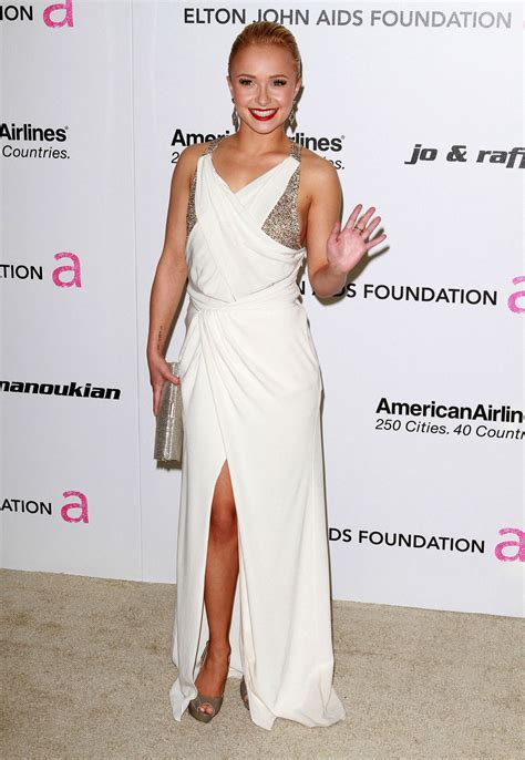 Elton Aids Foundation Oscar Kate Beckinsale by Hayden Panettiere 19th Annual Elton Aids Foundation