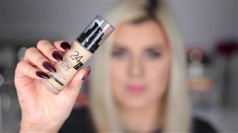 Makeup Catrice pierwsze wrażenie podkładu catrice 24h made to stay makeup