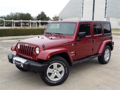 jeeps for sale in houston jeep wrangler unlimited for sale in houston tx