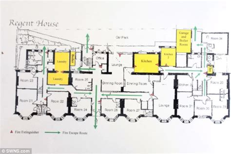 duggar family house floor plan britain s student house in plymouth home to 32 undergraduates daily mail
