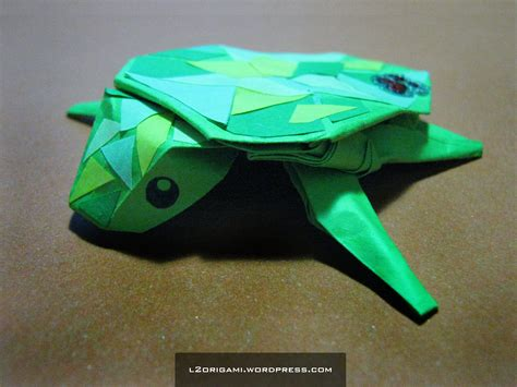 Turtle Dollar Origami - origami how to make an origami turtle with pictures