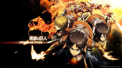 shinjeki no kyojin the characters shingeki no kyojin attack on titan