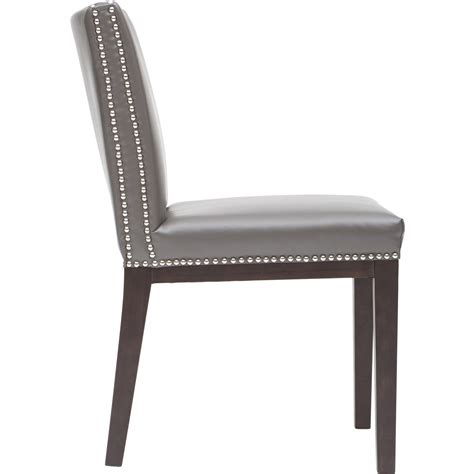 Gray Leather Dining Room Chairs Grey Leather Dining Chair Dining Chairs Design Ideas Dining Room Furniture Reviews