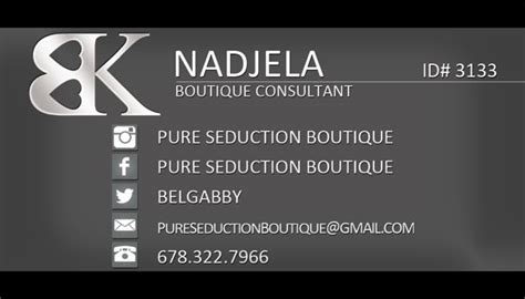 Bedroom Kandi Business Bedroom Kandi Boutique Consultant Business Cards Tight