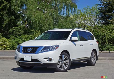 nissan pathfinder platinum 2016 nissan pathfinder platinum road test car reviews