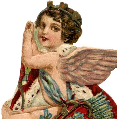 St Valentine Cupid Image!   The Graphics Fairy