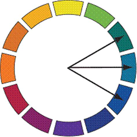 what color pairs well with green 1colorwheel gif