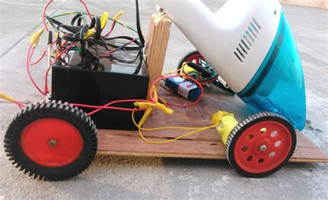 Floor Cleaning Robot Project by Arduino Based Obstacle Avoiding Vacuum Cleaner Robot