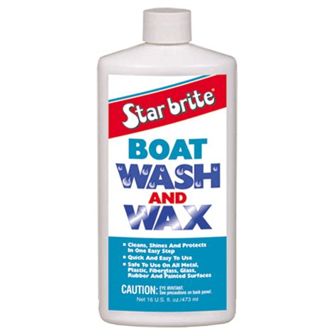 boat antifouling wax care boat care products starbrite boat wash wax 500ml
