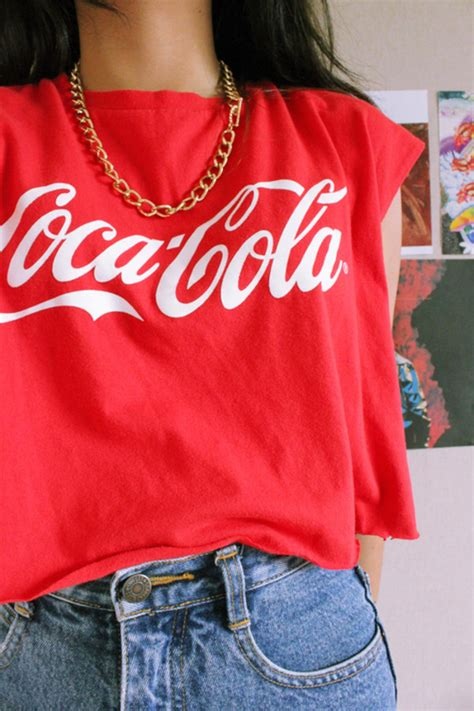 Promo Givenchy Malcon 5763 coca cola s t shirt size medium vintage 100 cotton ebay