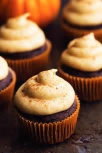 pumpkin cupcakes chocolate pumpkin cupcakes with cinnamon pumpkin cream cheese frosting the recipe critic