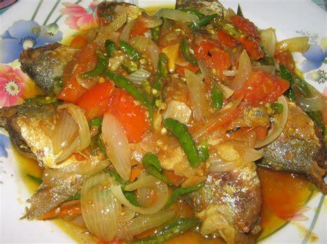 Ikan Kukus Cabe ikan kembung bumbu iris resep mbak asri