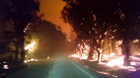 boat mechanic valley springs ca this horrifying wildfire escape video is a drive through