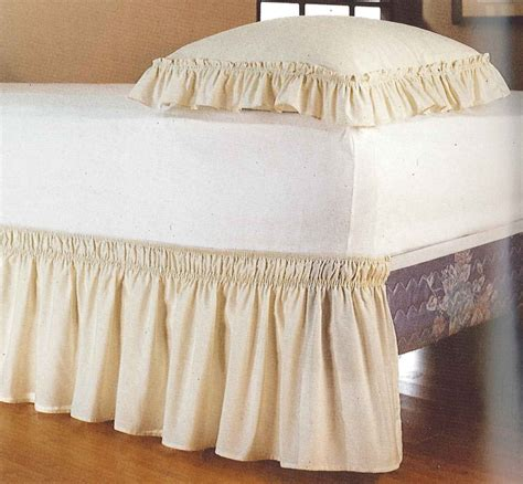 bed dust ruffle 18 quot bed dust ruffle curtain bath outlet
