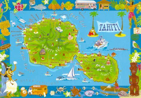 map of tahiti my favorite views polynesia tahiti map of the island
