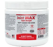 joint max strength soft chews 30 chews
