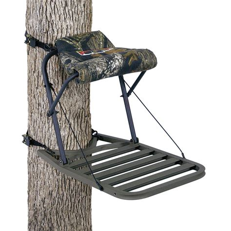 hang on treestand replacement seat loggy bayou monarch xl hang on treestand 121833
