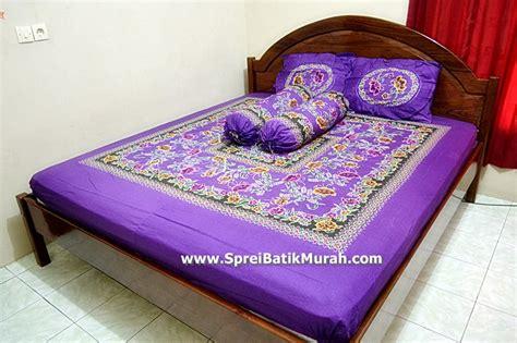 High Quality Sprei Batik Saputra sprei batik ungu